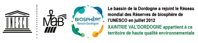 le bassin de la Dordogne a rejoint le Réseau mondial de biosphère de l'UNESCO en juillet 2012.